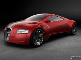 Audi R Zero Concept Red SA