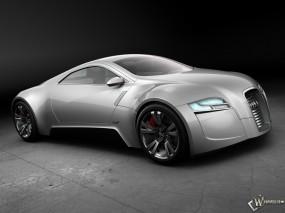 Audi R-Zero Concept Silver SA