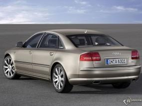 Обои Audi A8 Sedan: Ауди, Седан, Площадка, Audi A8, Audi