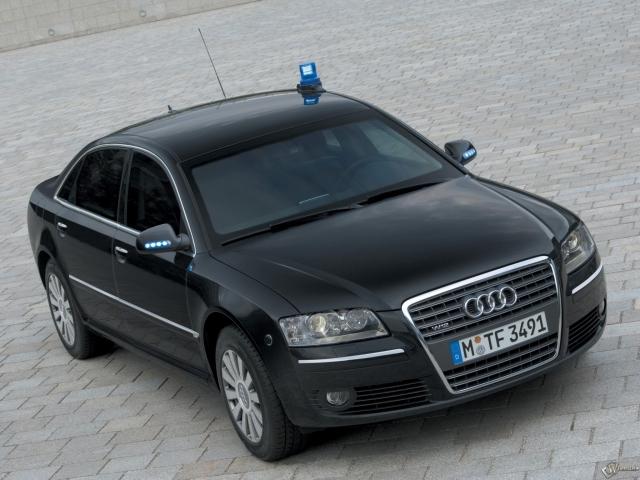 Audi A8 3.0 TDI quattro security
