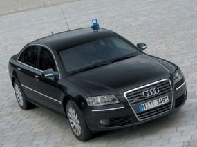Audi A8 3.0 TDI quattro security