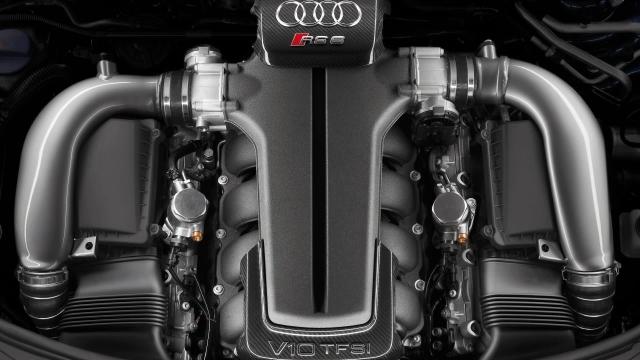 Двигатель Audi V10 TFSI
