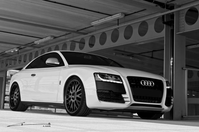 2011 Project Kahn Audi A5 Coupe Sport - Front Angle