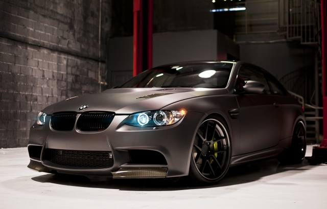 Matte Black BMW M3 Coupe by RDSport