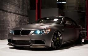 Matte Black BMW M3 Coupe by RDSport