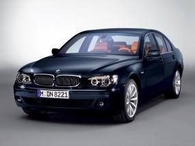 Обои BMW 7: Синяя бэха, BMW 7, BMW