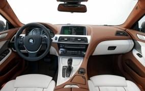 Обои BMW 640i Gran Coupe: Авто, BMW, Салон, BMW
