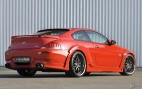 Обои BMW M6 Hamann: Красная бэха, BMW M6, Hamann, BMW