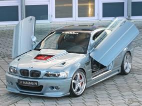 Обои BMW M3 Hamann: Серебристая BMW, BMW M3, Двери, Hamann, BMW