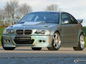 Обои BMW M3 Hamann: BMW M3, Hamann, BMW