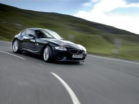 Обои BMW Z4 Coupe: Скорость, Дорога, BMW Z4, BMW