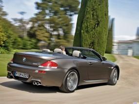 Обои BMW M6: Кабриолет, Природа, BMW M6, BMW