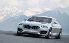 Обои BMW CS: Горы, Concept, BMW CS, BMW