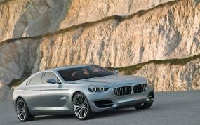 Обои BMW CS Concept (2007): БМВ, Скалы, Бэха, BMW CS, BMW