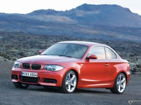 Обои BMW 1 - Series Coupe: BMW, Coupe, BMW 1, BMW
