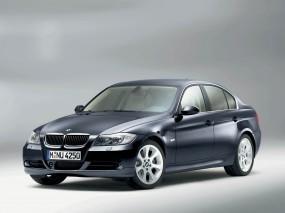 Обои BMW 3 - Series (2006): Синяя бэха, BMW 3, BMW