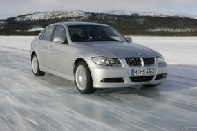 Обои BMW 3 - Series (2006): Зима, Лёд, BMW 3, BMW