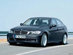 Обои BMW 3 - Series (2006): Чёрное авто, BMW 3, BMW