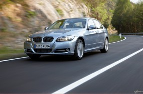 Обои BMW 3 - Series (2009): Дорога, BMW 3, BMW