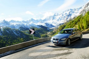 Обои BMW 3 - Series (2009): Горы, Природа, BMW 3, BMW