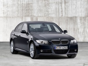 Обои BMW - 3 Series Sedan S (2006): BMW, Чёрное авто, BMW Series Touring, BMW 3, BMW