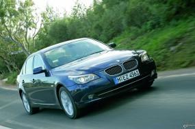 Обои BMW - 5 Series (2007): BMW, Трава, BMW 5, BMW
