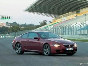 Обои BMW - 6: Трасса, Красная бэха, BMW 6, BMW