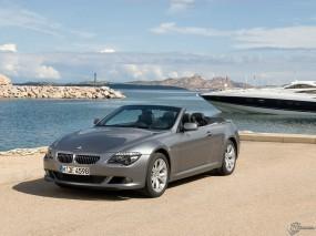 Обои BMW - 6 (2007): Кабриолет, BMW, Берег, BMW 6, BMW