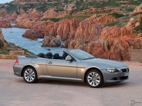 Обои BMW - 6 (2007): Кабриолет, Камни, BMW 6, BMW
