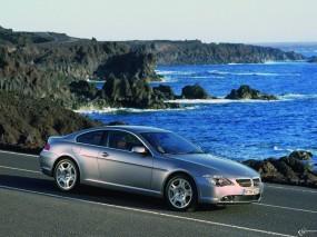 Обои BMW - 6 Series (2004): Море, Берег, BMW 6, BMW