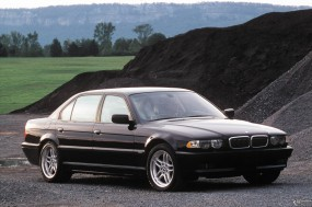 Обои BMW 7 Series (1999): BMW, Чёрное авто, BMW 7, BMW
