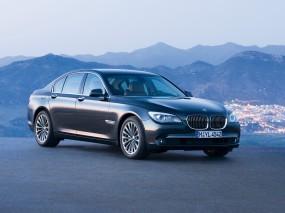 Обои BMW 7 Series (2009): BMW, Чёрное авто, BMW 7, BMW