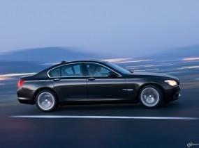 Обои BMW - 7 Series (2009): Скорость, BMW, Чёрное авто, BMW 7, BMW