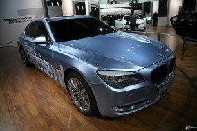 Обои BMW - 7 Series Active Hybrid (2008): BMW, Выставка авто, BMW 7, BMW