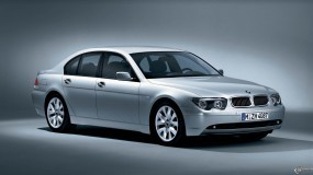 Обои BMW - 7 Series Sports Package (2002): BMW, Серебристая BMW, BMW 7, BMW