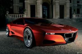 Обои BMW M1 Homage: BMW, Красная бэха, BMW M1, BMW
