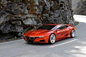 Обои BMW M1 Homage: Крутой поворот, Бэха, BMW M1, BMW