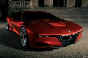 Обои BMW M1 Homage: BMW, BMW M1, Красное авто, BMW
