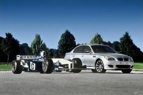 Обои BMW - M5 (2005): BMW, BMW M5, Формула 1, BMW