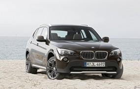 Обои BMW - X1 (2010): Внедорожник, Берег, BMW X1, BMW