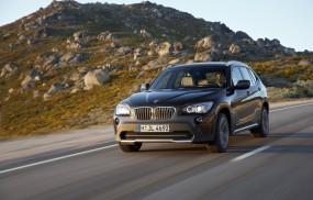 Обои BMW X1 (2010): Внедорожник, Трасса, BMW X1, BMW