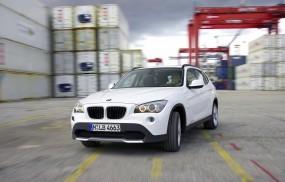 Обои BMW X1 (2010): Внедорожник, BMW X1, Белое авто, BMW