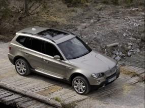 Обои BMW X3 (2007): Внедорожник, Мост, BMW X3, BMW