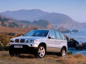 Обои BMW - X5 (2000): Внедорожник, Природа, BMW X5, BMW