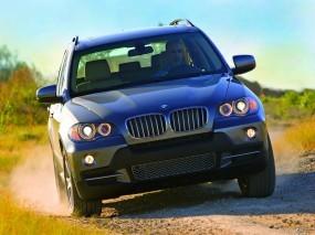 Обои BMW X5 (2007): Внедорожник, Природа, BMW X5, BMW