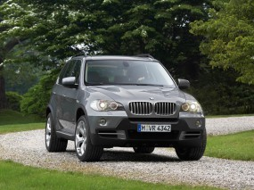Обои BMW X5 - (2007): Внедорожник, Природа, BMW X5, BMW