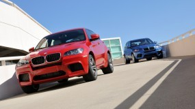 Обои BMW - X6 M (2010): БМВ, Мост, Развязка, BMW X6, BMW