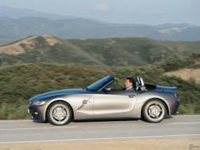 Обои BMW - Z4 (2003): Кабриолет, Природа, BMW Z4, BMW