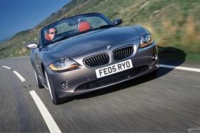 Обои BMW - Z4 (2003): Кабриолет, BMW, Трасса, BMW Z4, BMW