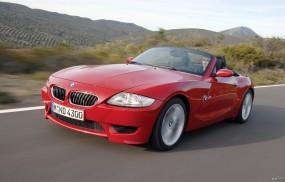 Обои BMW Z4 (2003): Кабриолет, BMW Z4, Красное авто, BMW